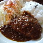 Ruhe-f - 本日のランチ(カレーハンバーグ)