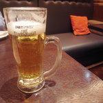 旬菜旬肴 きらり - ビールで乾杯♪