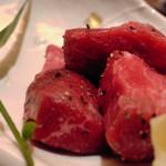 旬菜旬肴 きらり - お味はシンプルに粗挽きの塩コショウ