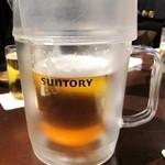 18824426 - ピッチャーからの生ビール