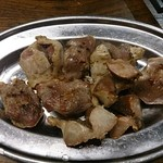 とりビアー - 砂肝焼き