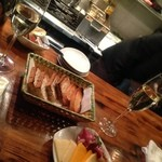 GABUCHIKIワイン倶楽部 - チーズの量が半端なく食べ切れませんでした。