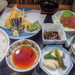 金時 - 盛り合わせ定食1000円