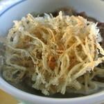 18829189 - ごぼう天 おろし蕎麦(冷)