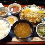 1883213 - 「ヘルシーハンバーグおろしポン酢定食」800円