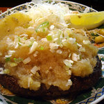 1883214 - 「ヘルシーハンバーグおろしポン酢定食」のハンバーグ