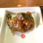 牛タンの店 赤間精肉店 - 唐辛子味噌、これがないと仙台牛たんではありません!