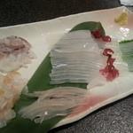 海のがき大将 - 料理写真:活イカ1900円