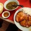 Chuukahirune - 料理写真:焼ぶた + ライスセット