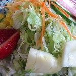 カレーハウス JIB - カレーについてくるサラダ