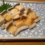 18836549 - 穴子の白焼き(1580円)
