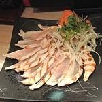焼鳥とりっぱ - 名古屋コーチンのタタキ
