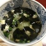 篠乃路 - 〆の豆腐茶漬け