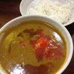 キッチンカミヤマ - 野菜カレー