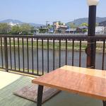 京料理 竹島 ICHIGO - 鴨川の風景