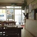 銀河食堂 - 店内は良くある中華の風情