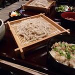 山本炭焼店 - カレーせいろと炊き込みご飯