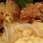 山本炭焼店 - 鶏カツ丼 アップ