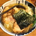 ○屋製麺店 - 味玉ちゃーしゅーわんたんめん(塩味¥1,100)5/2/2013