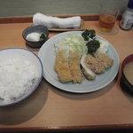 とん八亭 - ランチ 800円