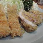 とん八亭 - ランチ(アップ)       800円