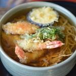 かねこそば処 - 料理写真:天ぷらそば