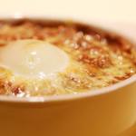 ウイスパー - とろ〜り玉子と挽肉コラボ「焼きカレー」
