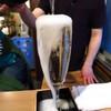 ビストロろっくうえる - 料理写真:名物のこぼれスパークリングワイン700円