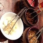 博多 一風堂 - 食べ放題のトッピング