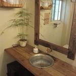 クックスカフェ&デリ - トイレのてあらいなのだ!