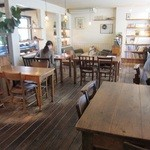 クックスカフェ&デリ - カフェ席