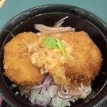 18842835 - ミニおろしヒレカツ丼