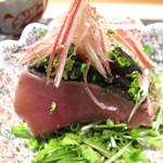 Yamachou - 鰹のたたき。             旬の味わいです。
