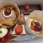 18844754 - 2013.05 嫁母からお誕生日のお祝いってケーキが届きました♪