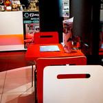 ガンダムカフェ - ひとつだけ、赤い席(*´д`*)
