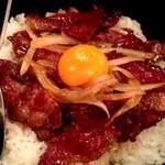 カヤグム - 和牛中落ちカルビ丼600円