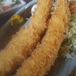 えびせい - お得エビフライ定食 平日は1200円でした。
