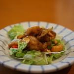希須林 - 鶏肉とカシューナッツのサラダ