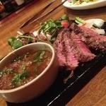 18849218 - 牛肉の炙り焼