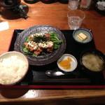 さつまや - ランチのチキン南蛮タルタルソース定食(980円)