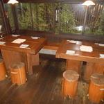 炉ばた りん - 落ち着いた テーブル席