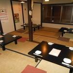 炉ばた りん - 2階は京町家独特のお座敷 25名様までの宴会OKです