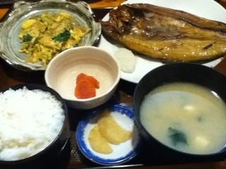 郷土料理 こふじ - ほっけ開き定食