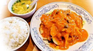 中国料理ドラゴン - 練り胡麻油淋鶏