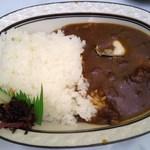 もみぢ荘 - カキカレー