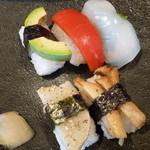 パンフレーテ - おすすめの野菜寿司!(゜д゜)ウマー