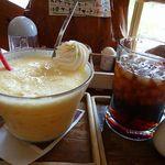 18855063 - ミックスジュース 700円、アイスコーヒー 380円