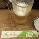 常鮨 - 生ビール