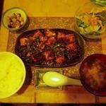 18856139 - マーボー定食