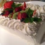 カーヴ 隠れや - 5日前にご予約いただけましたら特製バースデーケーキをご用意いたします!